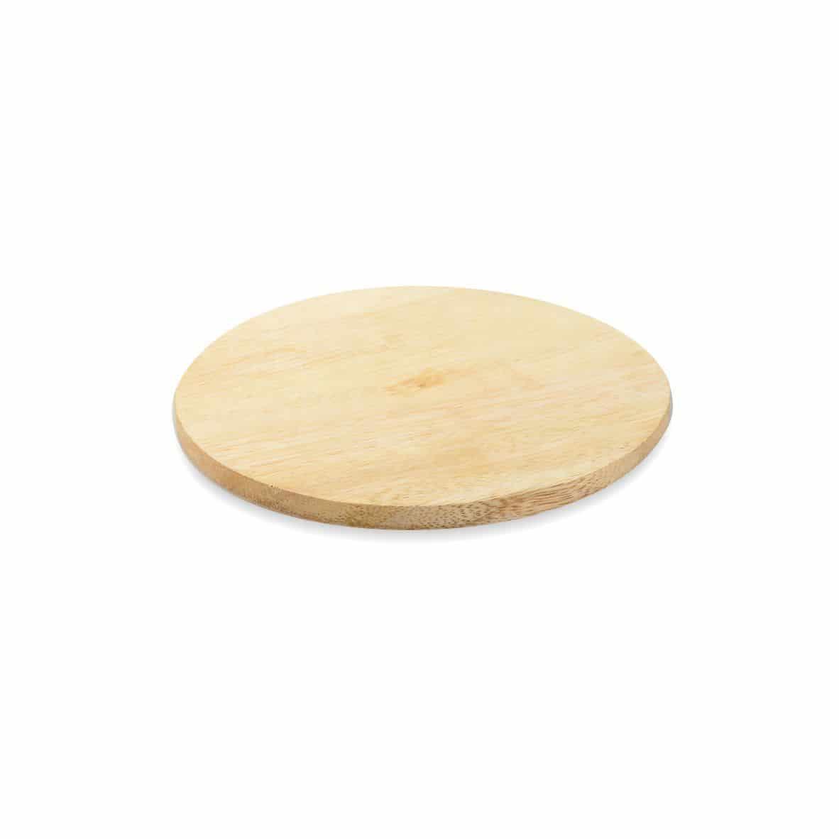 Kerzenteller Holz 100 mm, natur