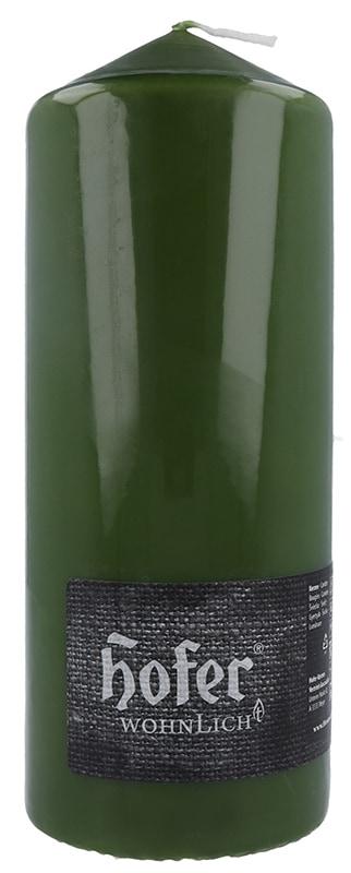 Stumpen 80 x 200 mm, olivgrün