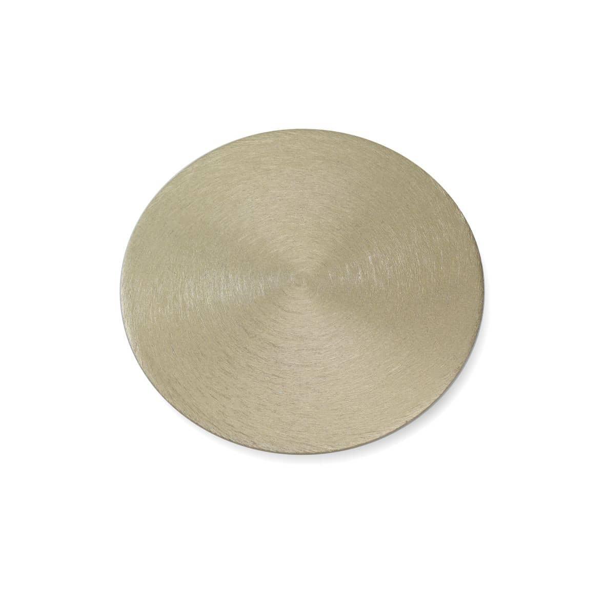 Kerzenteller Alu 100 mm, gold