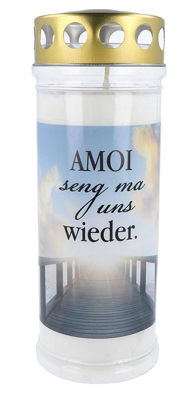 Hofer Premium 7 Tage Motivlicht, AMOI SENG MA UNS WIEDER