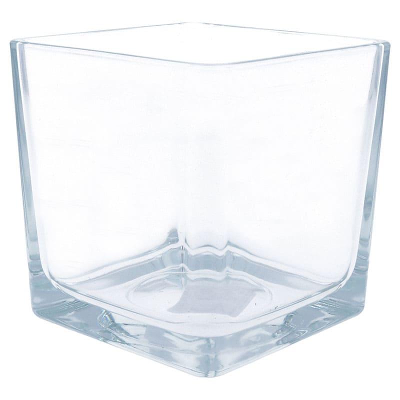 Kerzenglas CUBE, 95 x 95 mm
