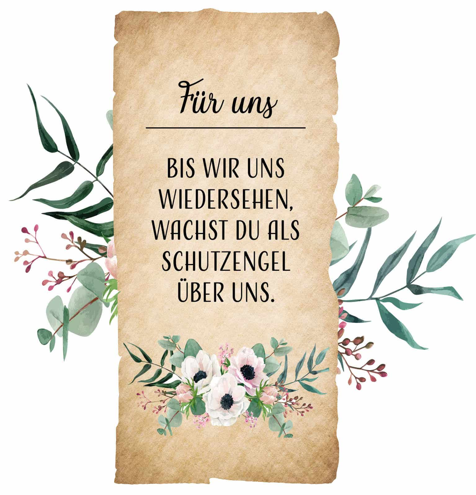 Hofer Premium 7 Tage Motivlicht Brief, FÜR UNS