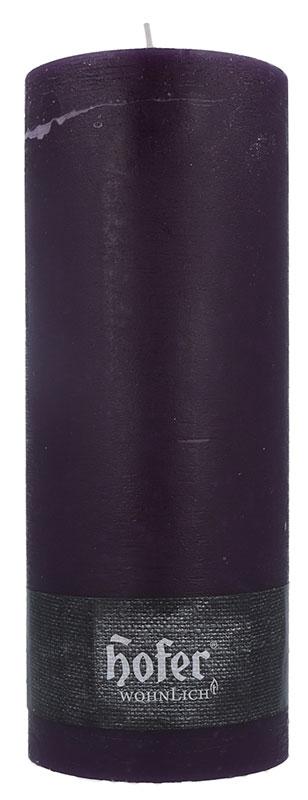 Rustikstumpen 100 x 250 mm, aubergine