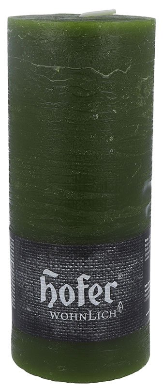 Rustikstumpen 100 x 250 mm, olivgrün