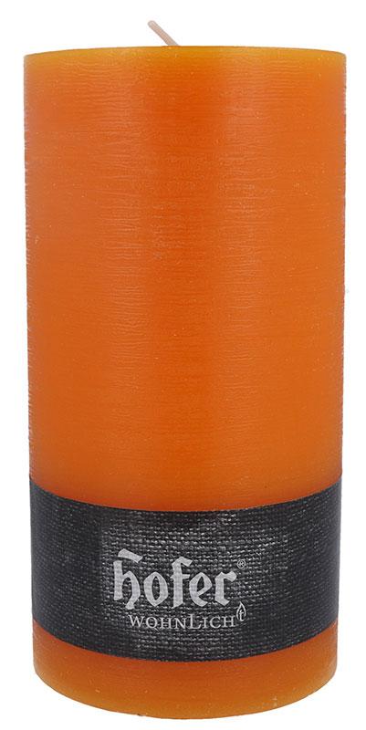 Rustikstumpen 100 x 190 mm, mandarin