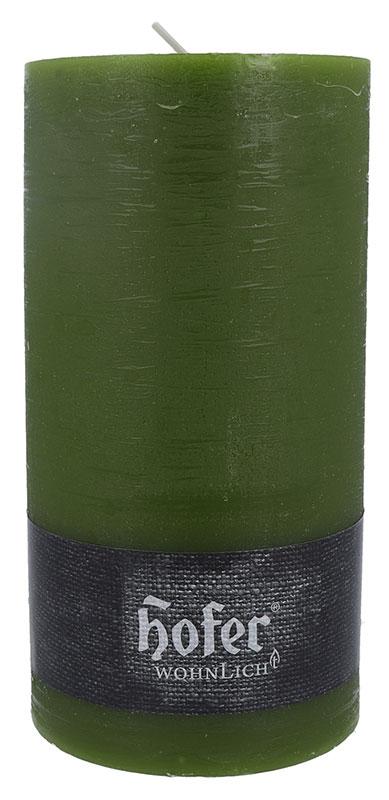 Rustikstumpen 100 x 190 mm, olivgrün