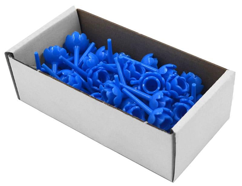 Geburtstagskerzenhalter 50er, blau