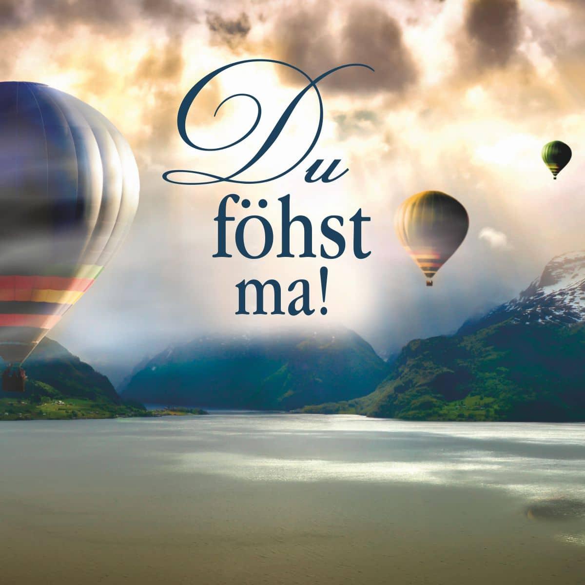 Hofer Premium 7 Tage Motivlicht, DU FÖHST MA