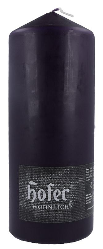 Stumpen 80 x 200 mm, aubergine